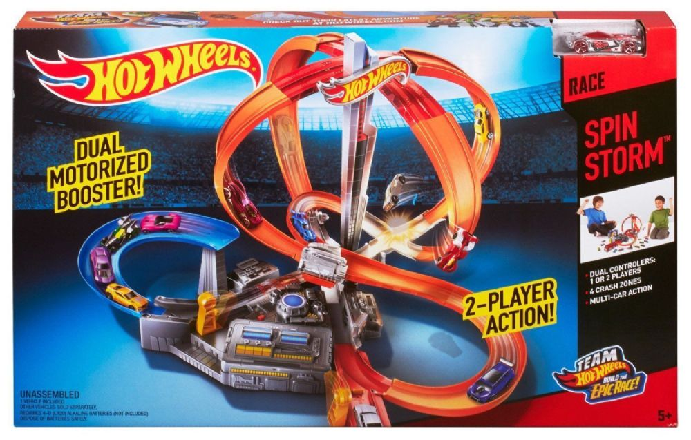 Hot Wheels Hw Race Spin Storm Team Hot Wheels Track
